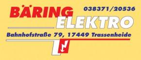Bäring Elektro - Trassenheide