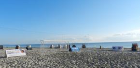 Beachsoccer Cup Karlshagen 2013 morgens
